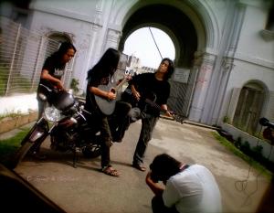 guns&guitars 4.JPG...Tripura, band Swaraijak