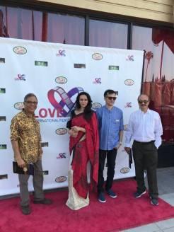 dipannita, bidyut & people from assamese diapspora at love international film festival